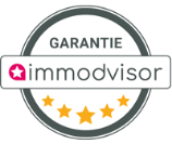 Logo Immodvisor, avis des clients Synerg'i